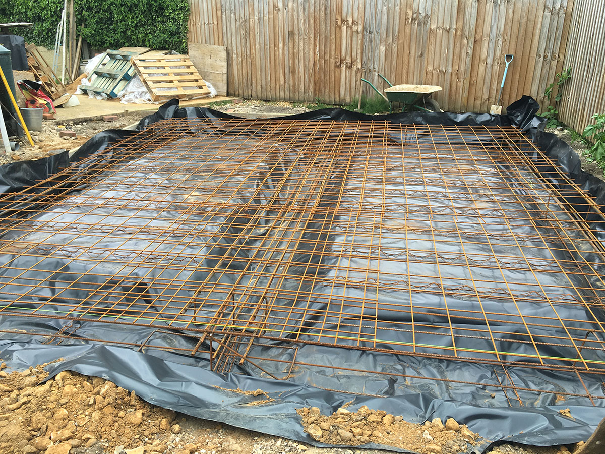 Concrete Raft Installation - Projects | L H  Contractors